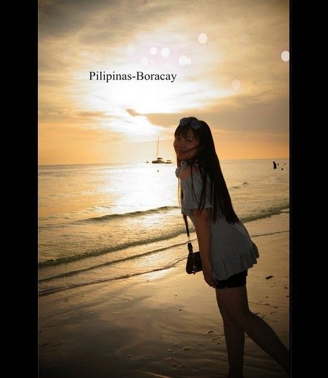 """[precipitation, docking, madness] - to our """"Philippine long"""" sail sunset appointment (Introduction to Boracay Island"""